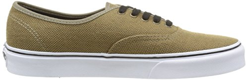 Vans Authentic, Sneakers Basses Mixte Adulte Marron (Jute/Walnut/Black)