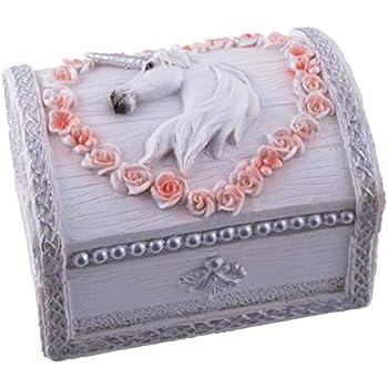 Lisa Parker Licorne Unicorn Jewellery Bo/îte /à bijoux Par Nemesis Now