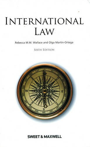 International Law por Professor Rebecca Wallace