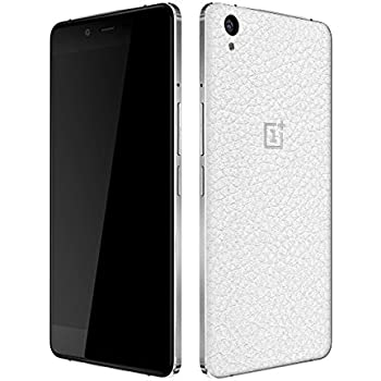 dbrand Leather White Back Mobile Skin for Oneplus X