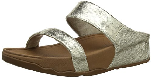 Fit For Fun - Sandali outdoor Lulu Lustra Slide Donna, Oro (pale gold), 42 (8 UK)