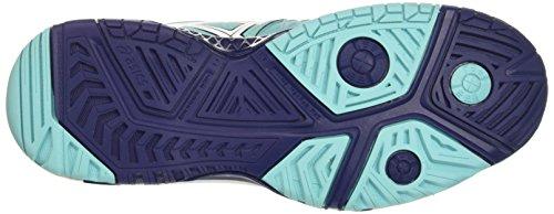 Asics Gel-Resolution 6, Scarpe da Tennis Donna Multicolore (Pool Blue/White/Indigo Blue)