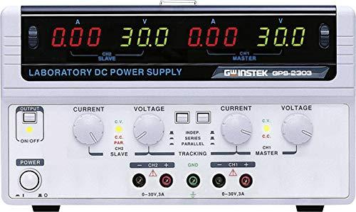 GW Instek Labornetzgerät, einstellbar GPS-2303 0-30 V/DC 0-3A 180W Anzahl Ausgänge 2 x Instek Gps