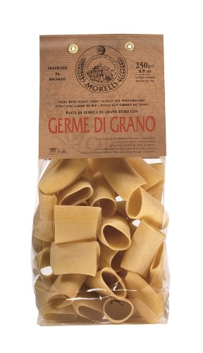 Paccheri with Wheat Germ - Bornze Wire-Drawing Technique 250g (Pack of 5)