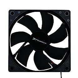 Phoenix Technologies phcoolerfan8PC Housing Fan, Cooler & Radiator Fan, radiator refoidisseurs (PC Case Fan, 8cm, 2000RPM, 12dB, 21dB)
