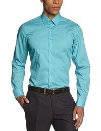 Venti Herren Body stretch/Body Fit Businesshemd,,