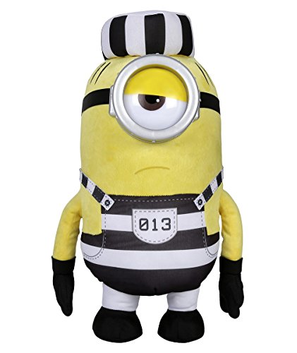 Minion Mel Jail Plush - Despicable Me 3 - 42cm 16.5""