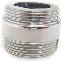 Adattatore di metallo solido per la cucina risparmio di acqua del rubinetto di rubinetto aeratore 22 millimetri a 24mm