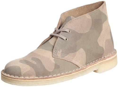 Clarks Desert 203589863 Damen Desert Boots Beige (Sand/Multi)
