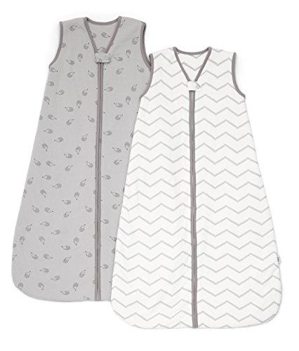 Mamas & Papas Dreampod Sleeping Bag 6 to 18 Months 2.5 Tog , Grey, Pack of 2, Nursery Bedding, Baby Sleeping Bag