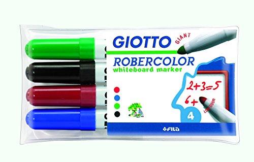 giotto-robercolor-blister-4-marqueurs-pour-tableau-blanc-encre-base-eau-couleurs-basiques-assorties