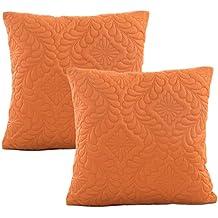 efff0b58c33 JOTOM Funda de Almohada de Cintura Acolchada Hojas Fundas de Cojines para  sofá de casa Decorativo