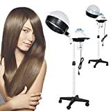 Best Professional Hood Hair Dryer - Elecmall Professional Hair Steamer with Timer Adjustable Hair Review