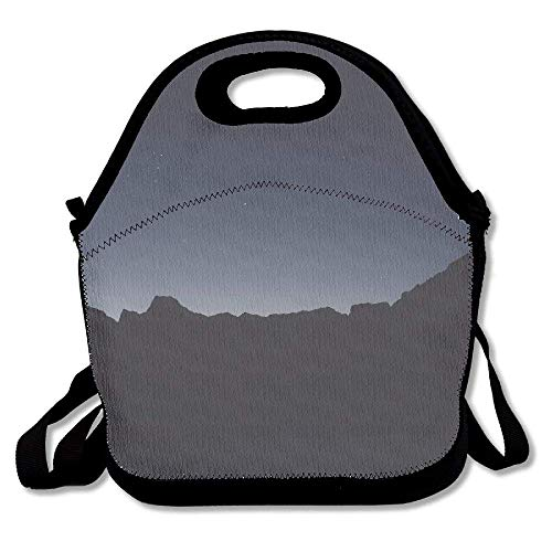 fengxutongxue Dark Mountains Custom Lunch Bag Picnic Bag Backpack Bag 85edd6fb4b2f5