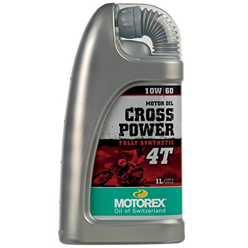 Motorex Cross Power 4T Oil - 10W60 - 1L. 171-403-100 by Motorex