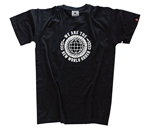 We are the New World Order - Anti-NWO T-Shirt Schwarz L - Nwo-t-shirt