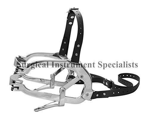 Millennium-Spekulum mit Biothene Riemen Reitsport Zahnarztinstrumente Mundknebel Für Pferde Pferd Mund Dental Spekulum