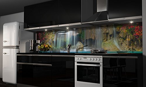 Spritzschutz kuche mit eigenem foto - Kuchenruckwand folie obi ...