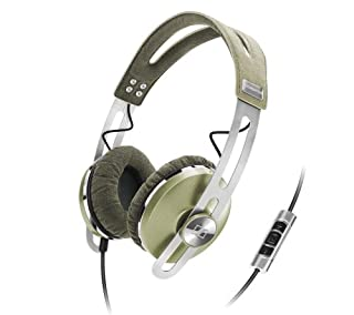 Sennheiser Momentum ON-EAR 505948 - Auriculares de diadema cerrados (Con micrófono, control remoto integrado), verde (B00D77U8UK) | Amazon price tracker / tracking, Amazon price history charts, Amazon price watches, Amazon price drop alerts