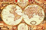Historical World Map 1000 Piece Puzzle by Tomax