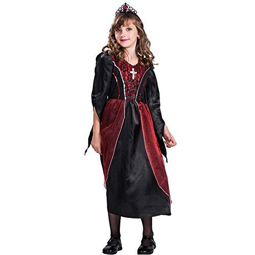 HSKS Halloween weibliches Vampir Cosplay Kostüm für eine Vielzahl von Maskerade-S
