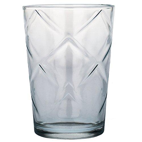 Bergner Fresh - Set de 6 vasos de cristal