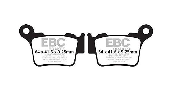 FIT HUSQVARNA TE 510 45mm diameter Marzocc 06/>08 EBC Organic Pad Set Rear Right