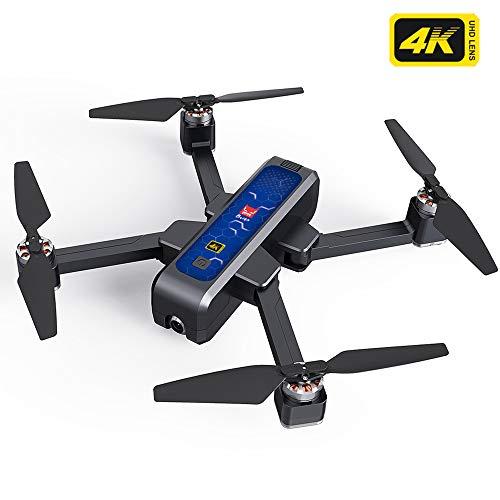 Teeggi Upgrade Echte 4K-MJX Bugs 4W Drohne B4W 5G GPS WiFi FPV RC Quadrocopter Faltbare Drohne mit 4K Kamera Rekord Video App EIN-Schlüssel RTH Follow Me 3D Visual Brushless Motor Track Flug Headless