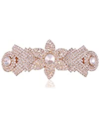 Accessher Designer Studded Back Hair Clip/ Hair Barrette/ Hair Pin Hair Accessories For Women - B074XV4MTL