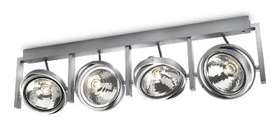 PHILIPS myLiving, Aufbauspot mit 60W, inklusive Leuchtmittel, 4-flammig 530644816 von Philips bei Lampenhans.de