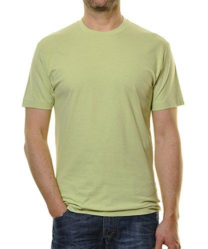 RAGMAN Herren T-Shirt Singlepack Grün-320