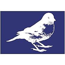 Rayher 4502800 - Plantilla de estarcido (lámina DIN A5, con raspador), diseño de pájaro
