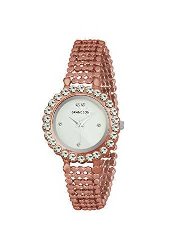 Grandson Copper Casual Analog Watch For Girls And Women