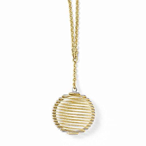 Preisvergleich Produktbild Leslies 14K Bicolor Draht Wrapped Halskette