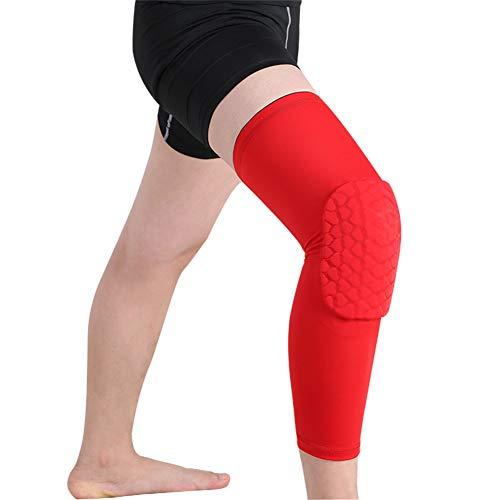 ZPPLD rutschfeste Sport-Kniebandage, Kniebandage Für Männer Frauen, Kompressions-Kniebandage Für Arthritis Schmerzlinderung Meniskusriss, Laufen Kniebeugen Gewichtheben Fußball Basketball,XXL -