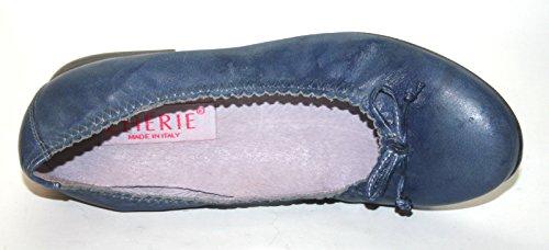 Cherie enfants Chaussures Filles Ballerines 1.398(sans Carton) Bleu