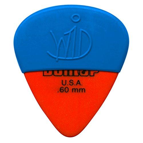 4 Dunlop 418 TORTEX STANDARD orange 0.60 mm - Guitar Pick - Ultimate Grip - The Pick Bag