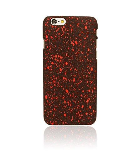 """licaso® iPhone 6 6S 4,7"""" schwarz matt Grün reflektierende iPhone Hülle Hard Case Soft Touch Schutzhülle Handyhülle iphone6 reflektierendes iPhone Case Neon Perlmutt (schwarz-grün) schwarz-rot"""