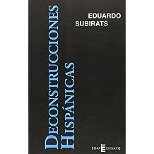 DECONSTRUCCIONES HISPÁNICAS (Edaf Ensayo)