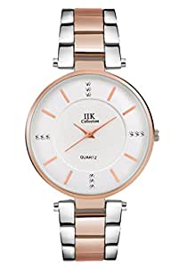 IIK Collection Watches Analogue Silver Big Size Dial Girl's & Women's Analogue Watch - IIK-1033W