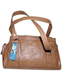 Adiari Fashion Brown Coloured Handy Handbag For Women
