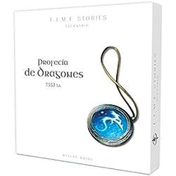Asmodee - T.I.M.E Stories, profecía de dragones (ADE0TST03ES)