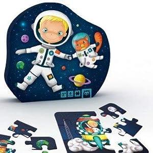 EUREKAKIDS Eureka Kids- Puzzle Evolutivo Astronauta 4 en 1 (68215052842)