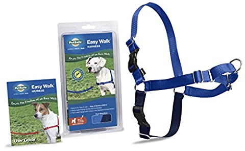 PetSafe Easy Walk Harness, Small/Medium, ROYAL BLUE/NAVY BLUE for