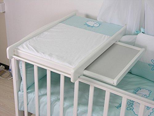 Polini Kids Wickelbrett Wickelplatte universell für alle Betten,3043-04