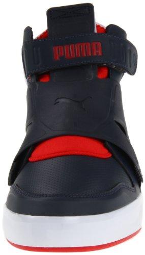 Puma El Rey Future Hommes Toile Baskets new navy-puma red
