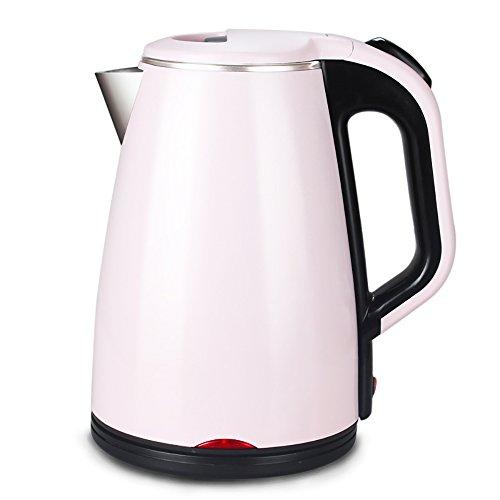 Bouilloire de chauffage automatique Bouilloire en acier inoxydable rose Automatique Éteint Éclairage de longue durée Bouilloire domestique (taille: 24 * 16cm) Faire bouillir rapidement la bouilloire