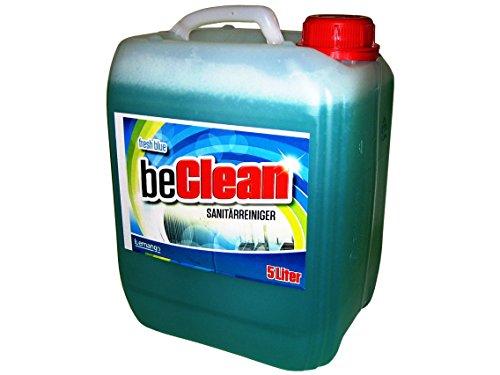 WC und Sanitärreiniger Gel beClean fresh blue 5 Liter Kanister