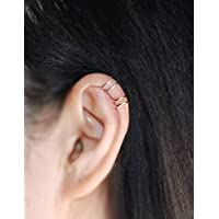 0.8 / 20 Gauge Upper Ear cuff,Sterling silver ear cuff, No Piercing Cartilage Ear Cuff, Tiny Cartilage Ring / Please select an option. / Price per One item