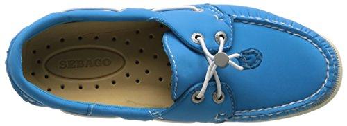 Sebago Docksides, Chaussures Bateau Femme Bleu (Aqua Blue)